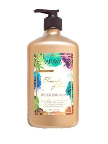 AHAVA LIMITED EDITION ELEMENTS OF LOVE MINERAL BODY LOTION