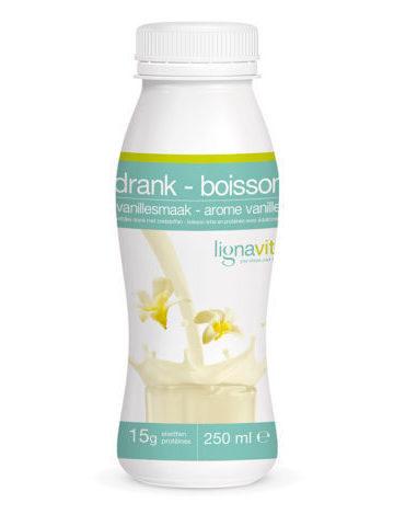 Flesje Vanille shake (250ml)