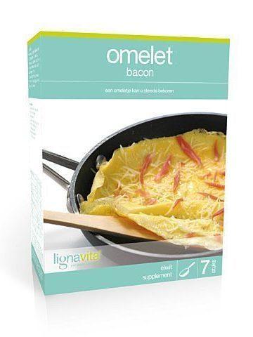 Omelet Bacon (etui van 7)