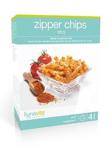 Zipper Chips BBQ (etui van 4)