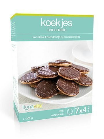 Koekjes chocolade (7x4 stuks)