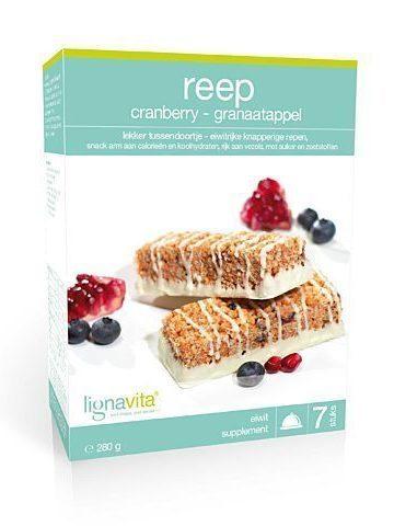 Reep Cranberry-granaatappel (etui van 7)