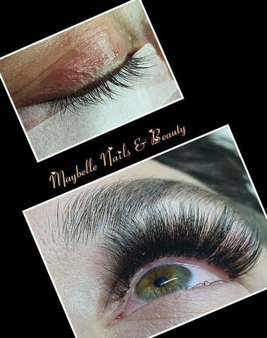 Maybelle Nails & Beauty - Wimperextensions
